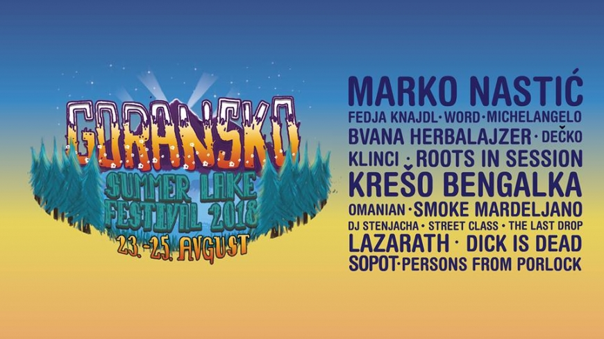 GORANSKO SUMMER LAKE festival 2018