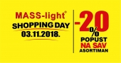 SHopping Day -20% Subota 03.11.2018. Mass-light rasvjeta